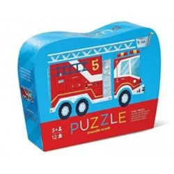 12 pc Mini Puzzle/Fire Truck