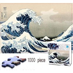 Puzzle La vague Hokusai...