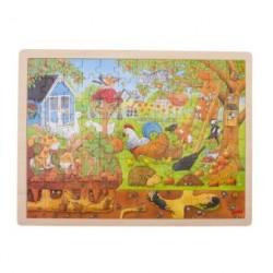Puzzle 96 pcs Notre jardin