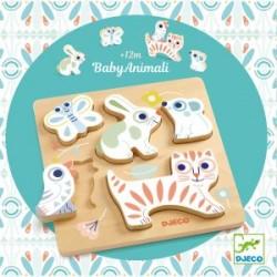 Puzzle Baby Animali