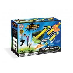 Stomp rocket avions...