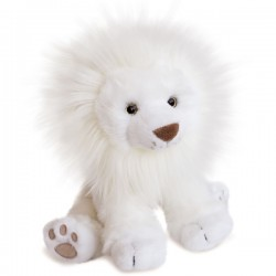 Lion des neiges 28cm
