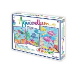 Aquarellum - Fonds coralliens