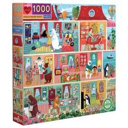 Puzzle eeboo 1000 pcs -...