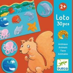 Loto animaux 30 pcs