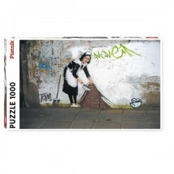 Puzzle 1000 pcs Banksy -...