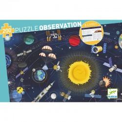 Puzzle observation 200pcs -...
