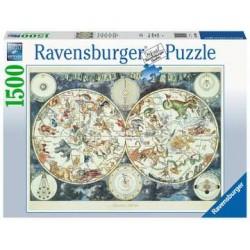 Puzzle 1500 pcs - Mappemonde