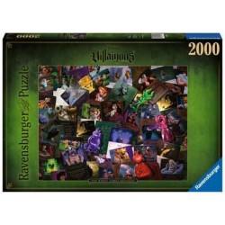 Puzzle 2000 pcs - Méchants...