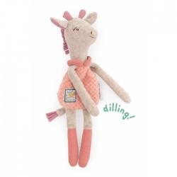 Doudou hochet girafe - Sous...