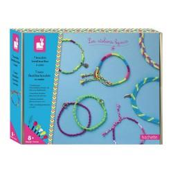7 bracelets brésiliens fluo...