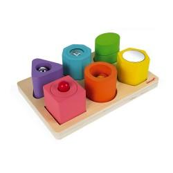 Puzzle 6 cubes sensoriels...