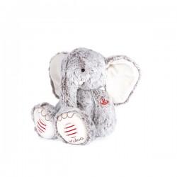 Peluche éléphant Noa gris...