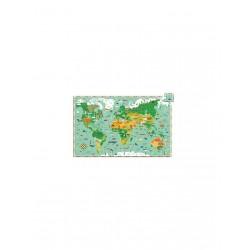 Puzzle 200p tour du monde