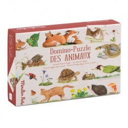 Domino-Puzzle des animaux -...